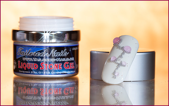Liquid Stone Gel opal rose  5 ml