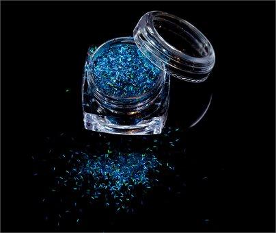 Fiber Optics Holo Blue