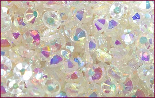 Rhinestone iridescent 100 Stück | SS3