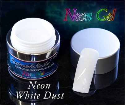 Neon Gel White Dust 5ml