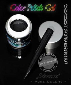 Pure Color Gel Schwarz 5ml