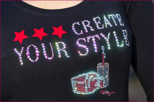 Strass Shirt Create your Style