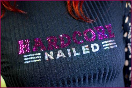 Strass Shirt Hardcore Nailed