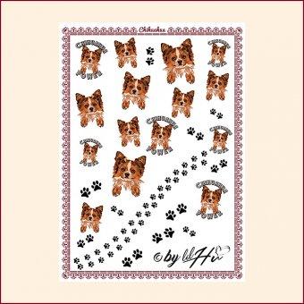 Nail Wraps Chihuahua