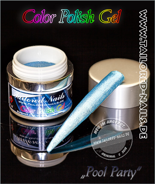 Polish Color Gel Pool Party 5ml