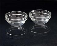 Ablöseschälchen aus Glas 2 Stück