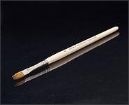 Modellagepinsel Rotmarderhaar flach Größe 8