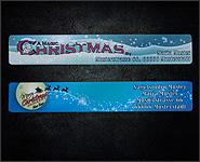 16 Christmas Feilen personalisiert