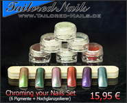 Chroming your Nails Set