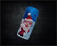 Christmas Motiv Papa Noel