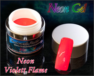 Neon Gel Violett Flame 5ml