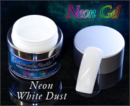 Neon Gel White Dust 5ml