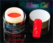 Neon Gel Ziegelrot 5ml
