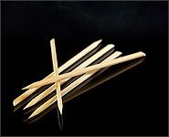 Holzstäbchen 5 Stück