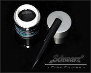 Pure Color Gel Schwarz 5ml