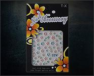 3D Flower Sticker Motiv A22