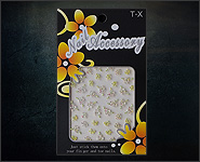 3D Flower Sticker Motiv A23