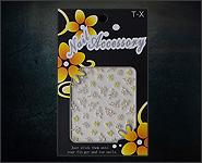 3D Flower Sticker Motiv A23