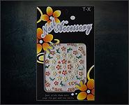 3D Flower Sticker Motiv A33
