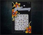 3D Flower Sticker Motiv SJT2