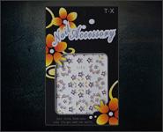 3D Flower Sticker Motiv SJT2