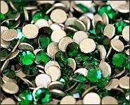 Swarovski Strass Steinchen Emerald