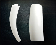 Nachfüllpackung White French 50 Stück