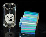 Metallikeffekt Transferfolie Aqua