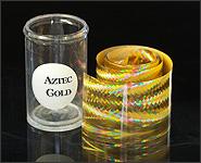 Metallikeffekt Transferfolie Azteken Gold