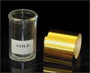Metallikeffekt Transferfolie Gold