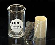 Metallikeffekt Transferfolie Opal Glitter