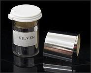 Metallikeffekt Transferfolie Silber