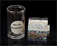 Metallikeffekt Transferfolie Silver Star